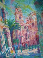 Paintings - CATHEDRAL OF ST MARY THE CROWNED, GIBRALTAR